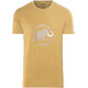 Mammut Logo T-Shirt Men sand-dark sand